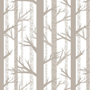 Winter Woods {White}