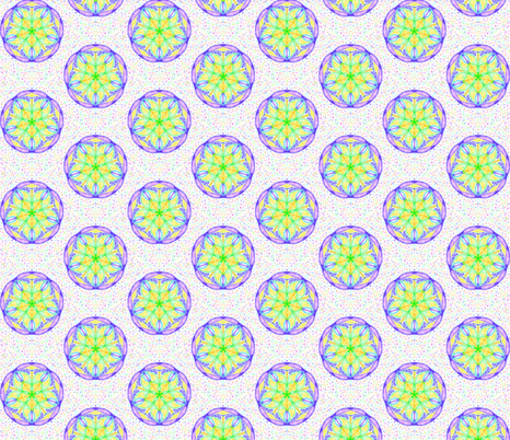 Twirling Stars on Pastel Speckles fabric by rhondadesigns on Spoonflower - custom fabric