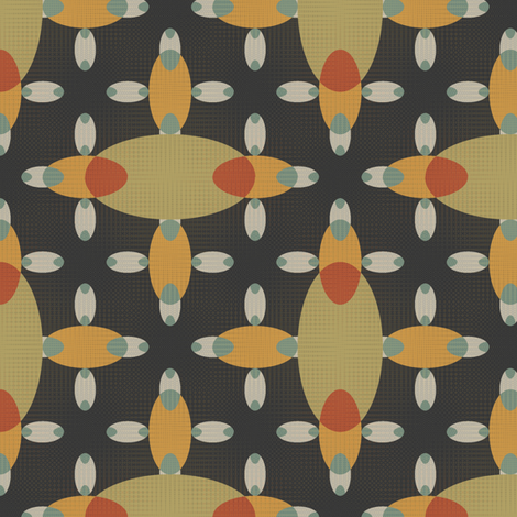 Bean Stitch fabric by david_kent_collections on Spoonflower - custom fabric