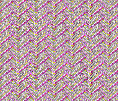 Ribbon Weave fabric by unclemamma on Spoonflower - custom fabric