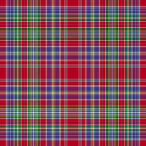 Hunter red tartan, 12""