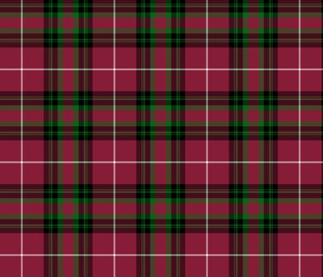 "Hunter of Bute tartan, 6"" fabric by weavingmajor on Spoonflower - custom fabric"