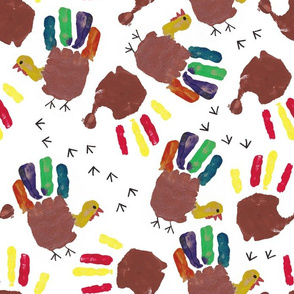 Thanksgiving Turkey Hand Print
