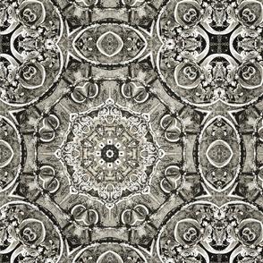 Antique Gate - Black
