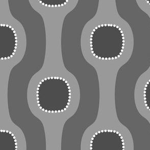 Modern Bubble Gray