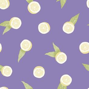 Lemons on Lavendar