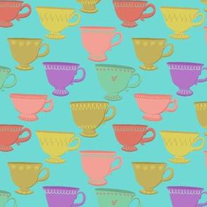 Retro Teacups