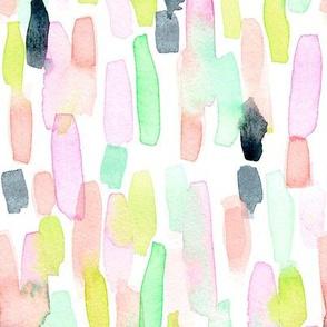 painty pastel