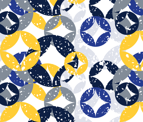 Winter fabric by owlandchickadee on Spoonflower - custom fabric