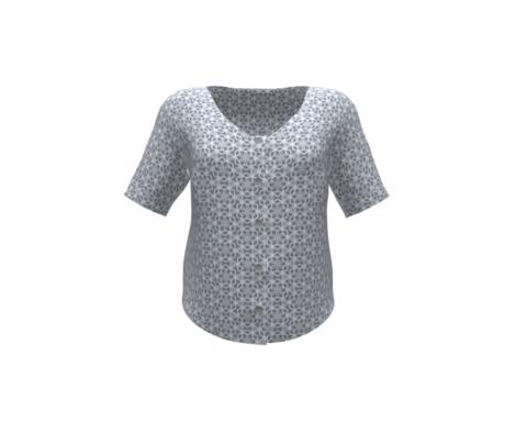 Snowflake Lace Gray