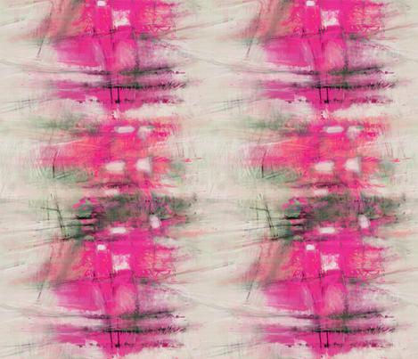 painterly-citysc-pink fabric by wren_leyland on Spoonflower - custom fabric