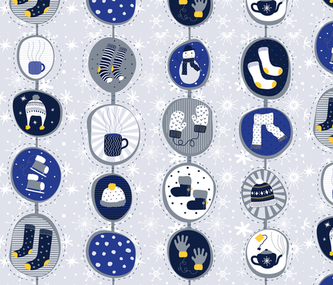 Cozy comforts fabric by mobijo on Spoonflower - custom fabric