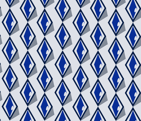 Iciscle abstraction fabric by twilfley on Spoonflower - custom fabric