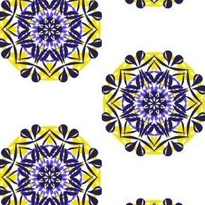 Boho Star Bows on White
