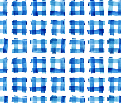 Buffalo Check Abstract fabric by hipkiddesigns on Spoonflower - custom fabric