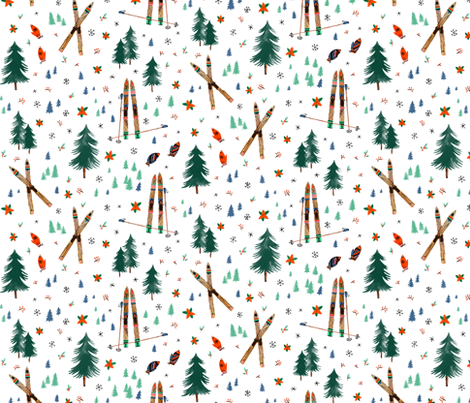 Hygge Wonderland fabric by wildship on Spoonflower - custom fabric