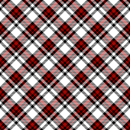 Red, black and white fabric by anya_d on Spoonflower - custom fabric