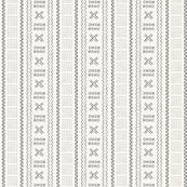 Bogo Tribal Print 4 Ivory