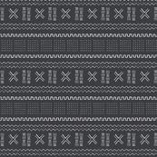 Bogo Tribal Print 4A Black