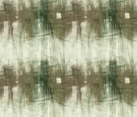 painterly-city-brown fabric by wren_leyland on Spoonflower - custom fabric
