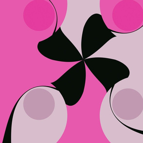 pink and Black Spin