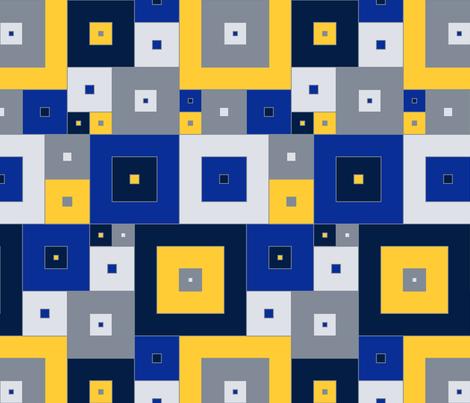 Italian  Boxes - winter modern fabric by ormolu on Spoonflower - custom fabric