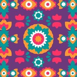Colorful Bohemian Suzani