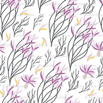 Flower branches