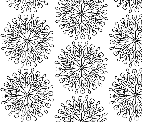 Doilies fabric by gin0531 on Spoonflower - custom fabric