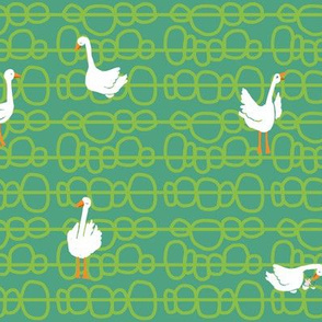 geese_green bobbles