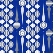 silver mod ornaments