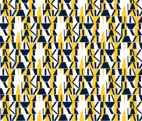 Oxford_and_Sunglow_Abstract fabric by mottle&daub on Spoonflower - custom fabric