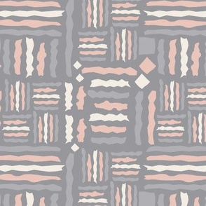 Tribal Geometrics, dark grey