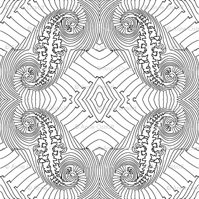 Fractal for Coloring Book