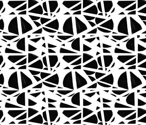 Circles in Triangles fabric by gabmana on Spoonflower - custom fabric