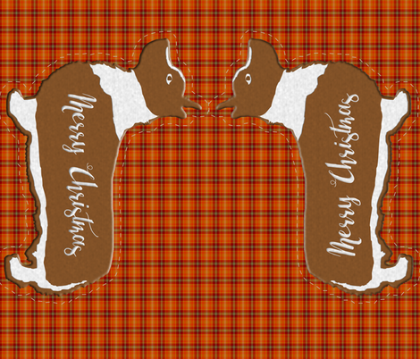 Gingerbread_corgi_pillow fabric by suziwollman on Spoonflower - custom fabric