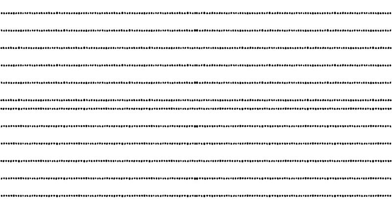 Dotted Line Block Print in Black wallpaper - always_june