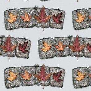 Autumn Leaf & Stone