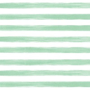 gouache stripes // seafoam