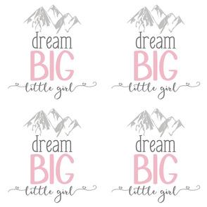 9 inch Dream big little girl