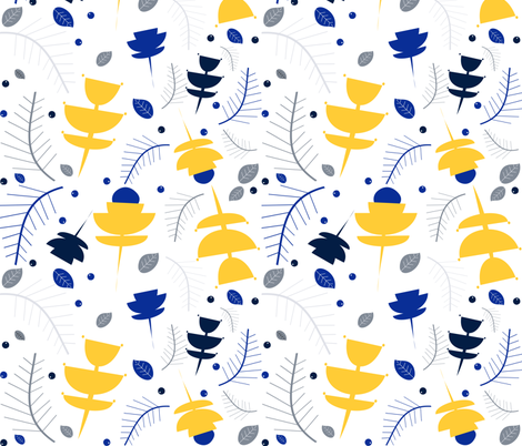 winter_mod_white fabric by bruxamagica on Spoonflower - custom fabric