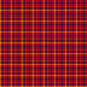 "Culloden artefact, possibly a Munro tartan, 1"" repeat"