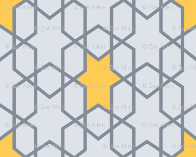 Winter Mod Moroccan tile