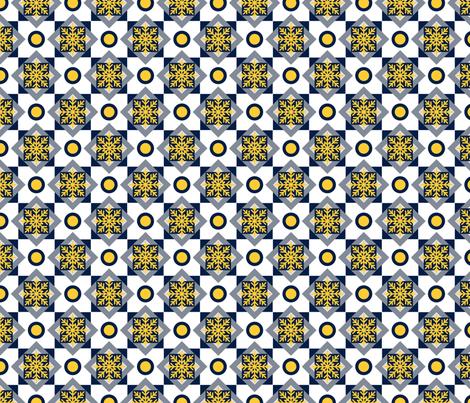 Winter Geometric fabric by yopixart on Spoonflower - custom fabric