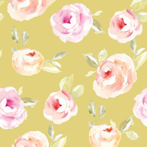 Cute Yellow Vintage Roses