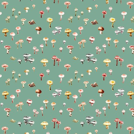 Rmushrooms_colour_7cm_repeat_green_shop_preview