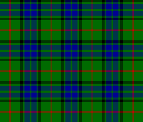 Lauder tartan (Vestiarium Scoticum) fabric by weavingmajor on Spoonflower - custom fabric