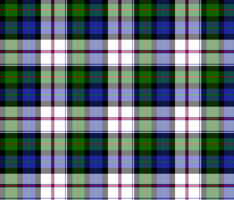 "Lauder dress tartan, 6"" fabric by weavingmajor on Spoonflower - custom fabric"