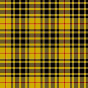 """Lauder tartan, yellow 6"""""""