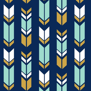 Fletching_Forest_navy_gold_white